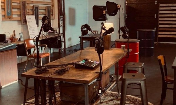 Ezekiel Project podcast studio