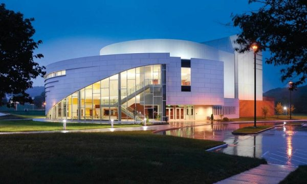 Exterior of The Performing Arts Center at Kent State
