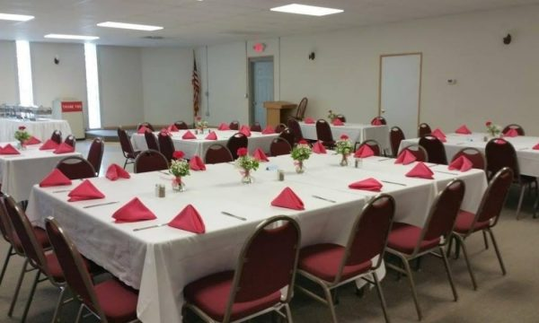 Banquet room at Ricardos